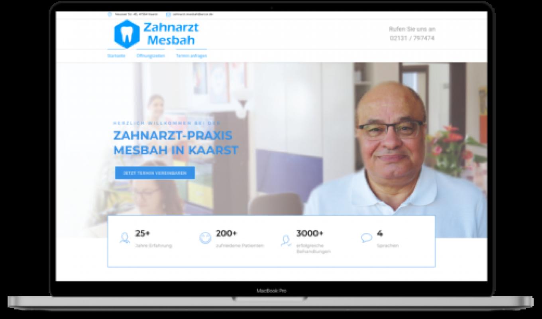 Salif Diallo Project Zahnarzt Mesbah
